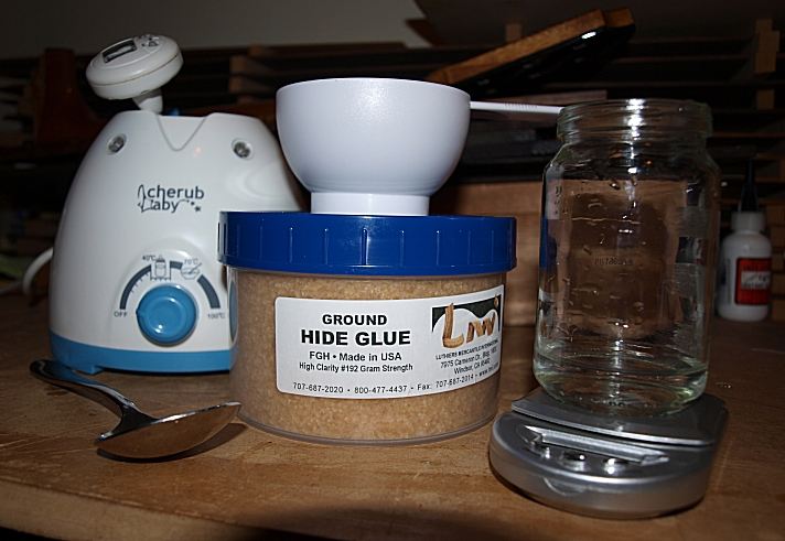 Wood With Strings: Hot Hide Glue
