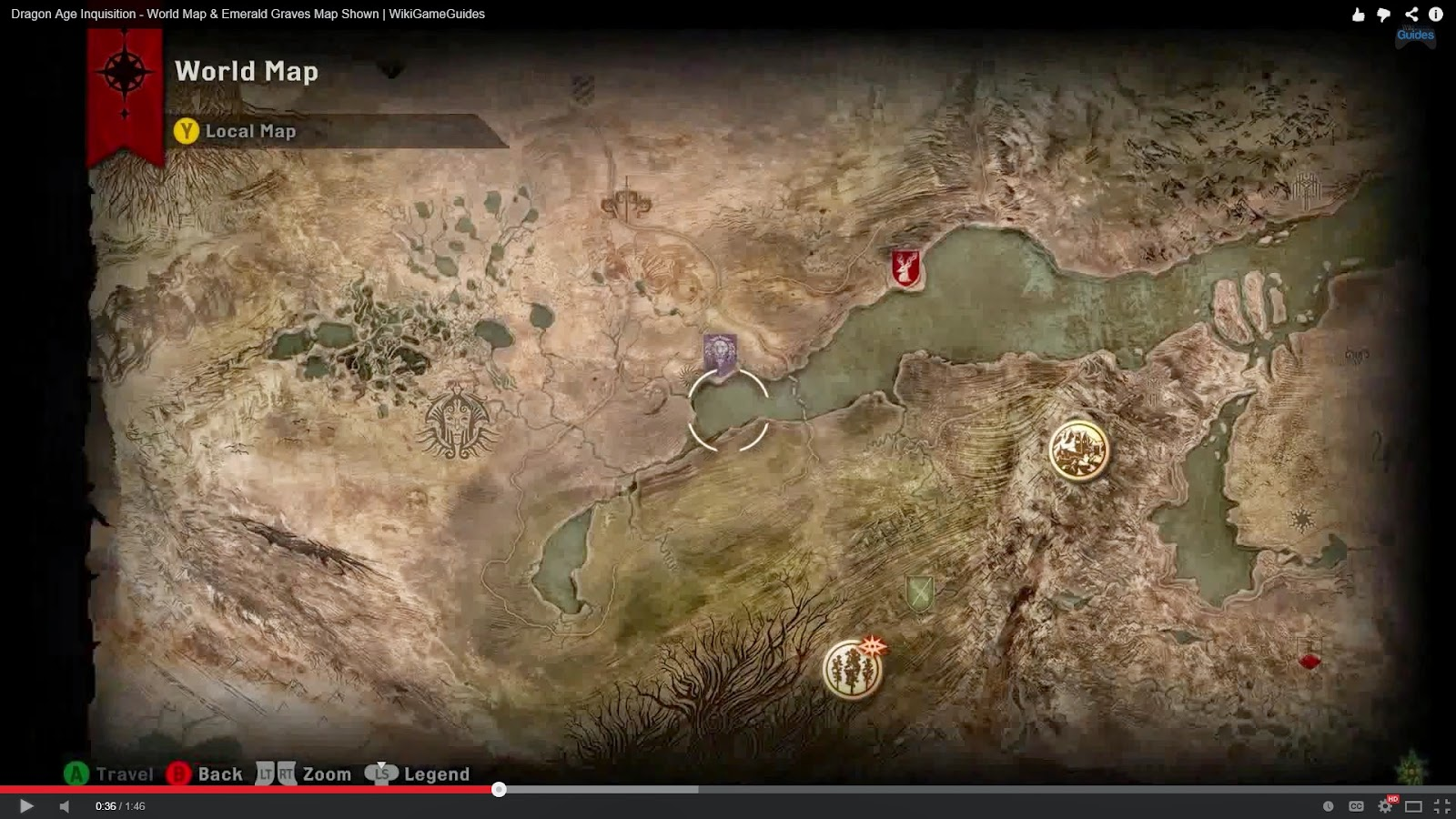 Dragon Age: Inquisition World Map! : dragonage on
