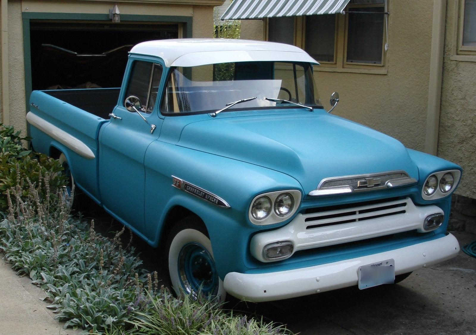 All American Classic Cars 1959 Chevrolet Apache Fleetside Pickup Truck