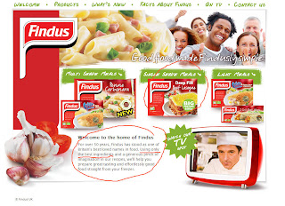 Findus UK Website 8 February 2013