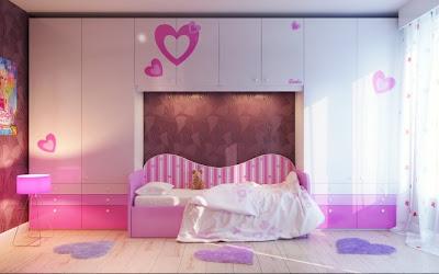 habitación estilo romántico