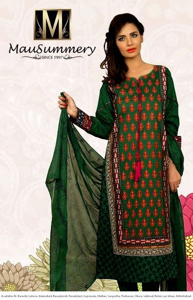 Mausummery Dresses for EID 2014
