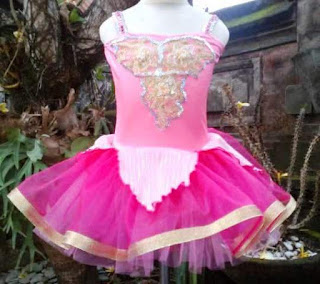 Model Baju Balet Anak Warna Pink