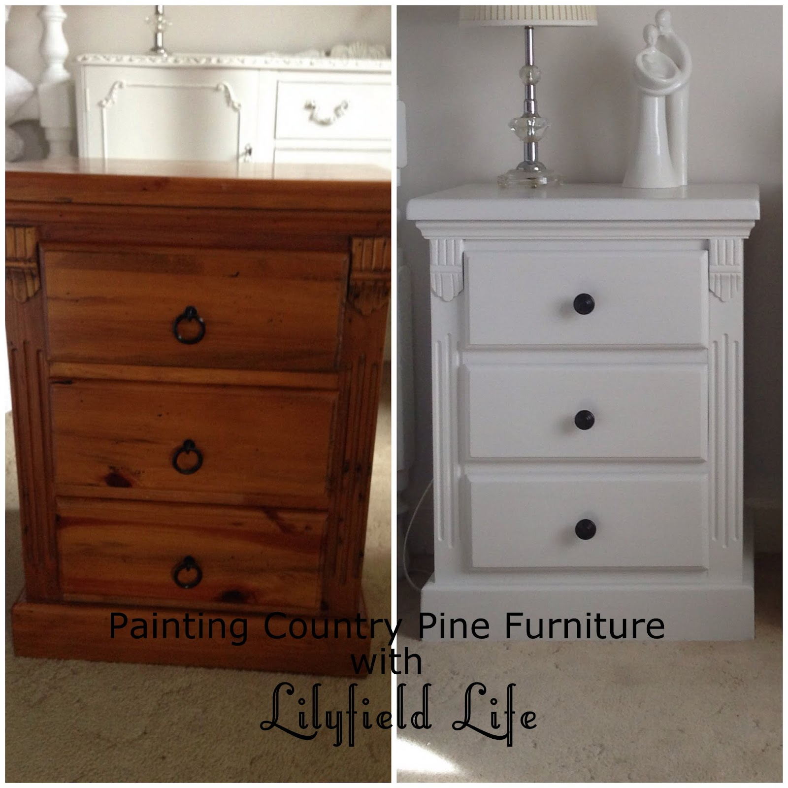 How To Paint Pine Furniture With Chalk Paint How To Give