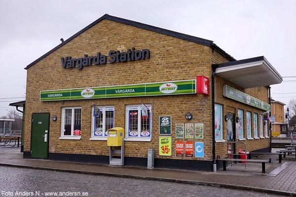 Vårgårda station, järnvägsstation