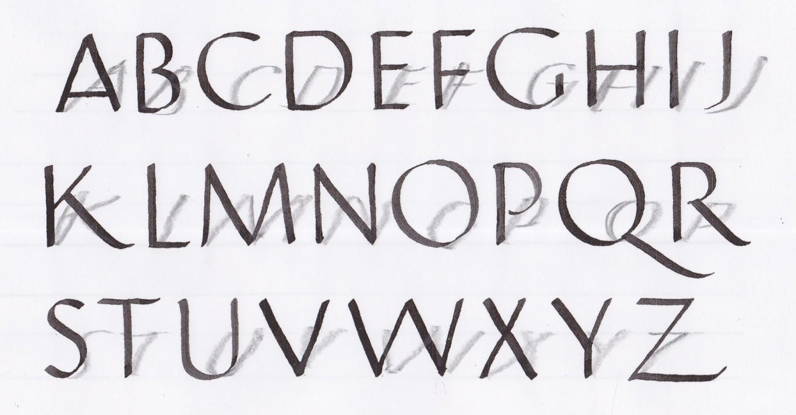 Margaret Shepherd Calligraphy Blog 219 Short Shadow