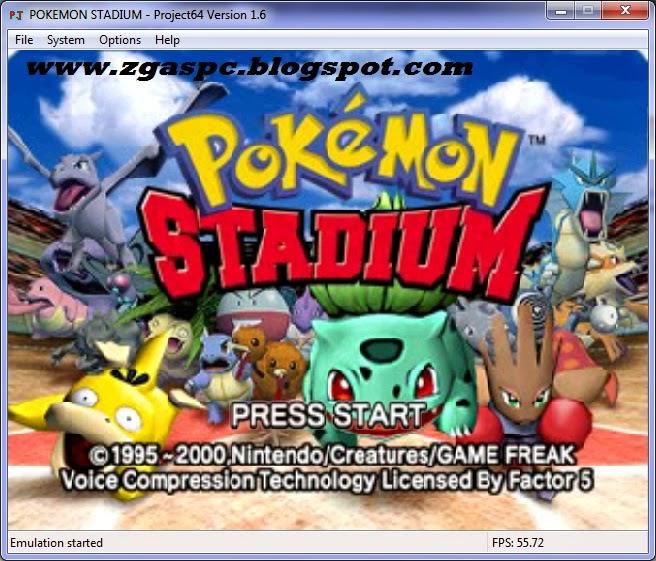 Download Pokemon Stadium N64 ISO