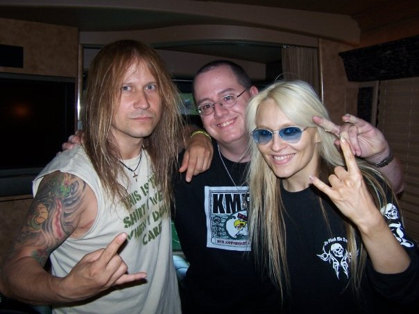 With Chris Caffery of Trans-Siberian Orchestra/Savatage and Doro Pesch