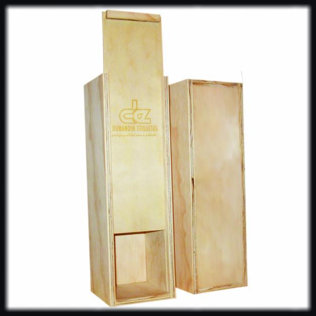 Alaprestatgeria aprovecha las cajas de madera del vino - Decorar con cajas de vino de madera ...