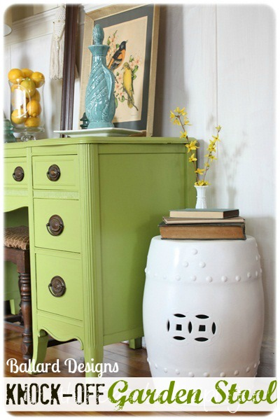 ballard designs garden seat Decor You Adore: Pull up a stool; a garden stool!