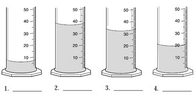 Printables Reading A Graduated Cylinder Worksheet measuring liquid in a graduated cylinder