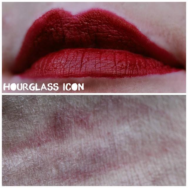 Hourglass Opaque Rouge Liquid Lipstick in Icon