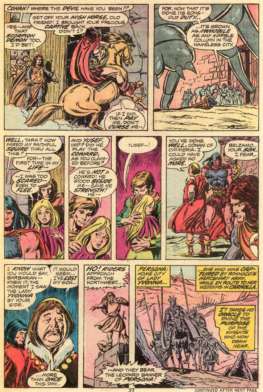 Conan the Barbarian (1970) Issue #55 #67 - English 17