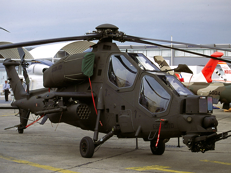 A129 Mangusta Anti Tank Helicopter