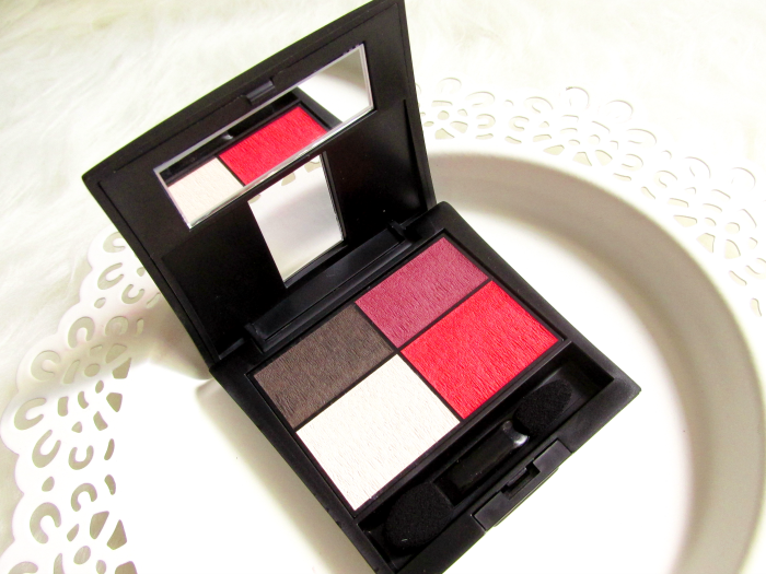 Make up Factory Mat Eye Colors Quattro - 020 Red Rebel