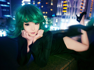 Cosplay Tatsumaki One Punch Man Misa Chiang images 06
