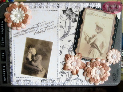 Vintage Women Themed Postcard for Kak Emila Yusof