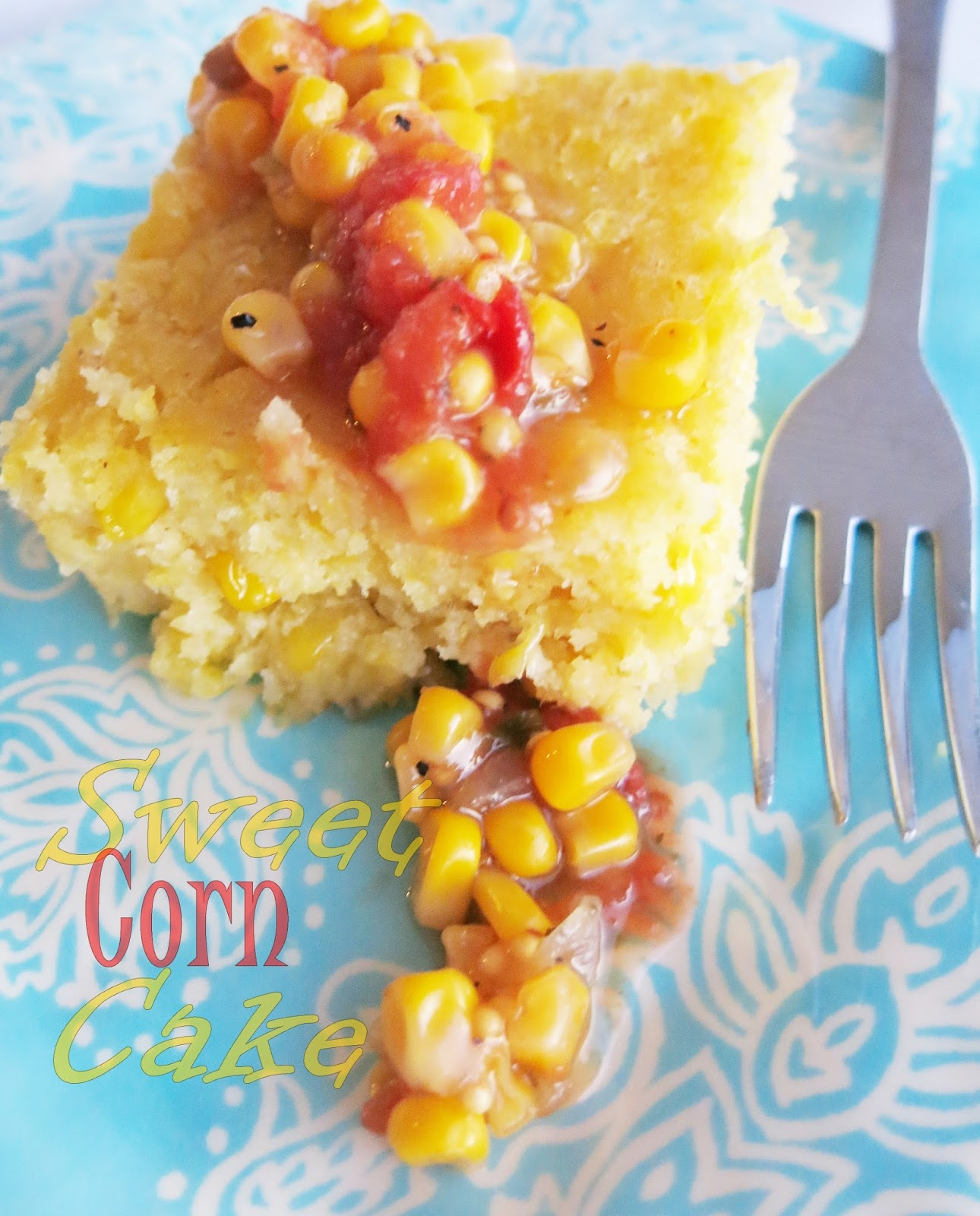 Sweet Corn Cake - Purple Chocolat Home