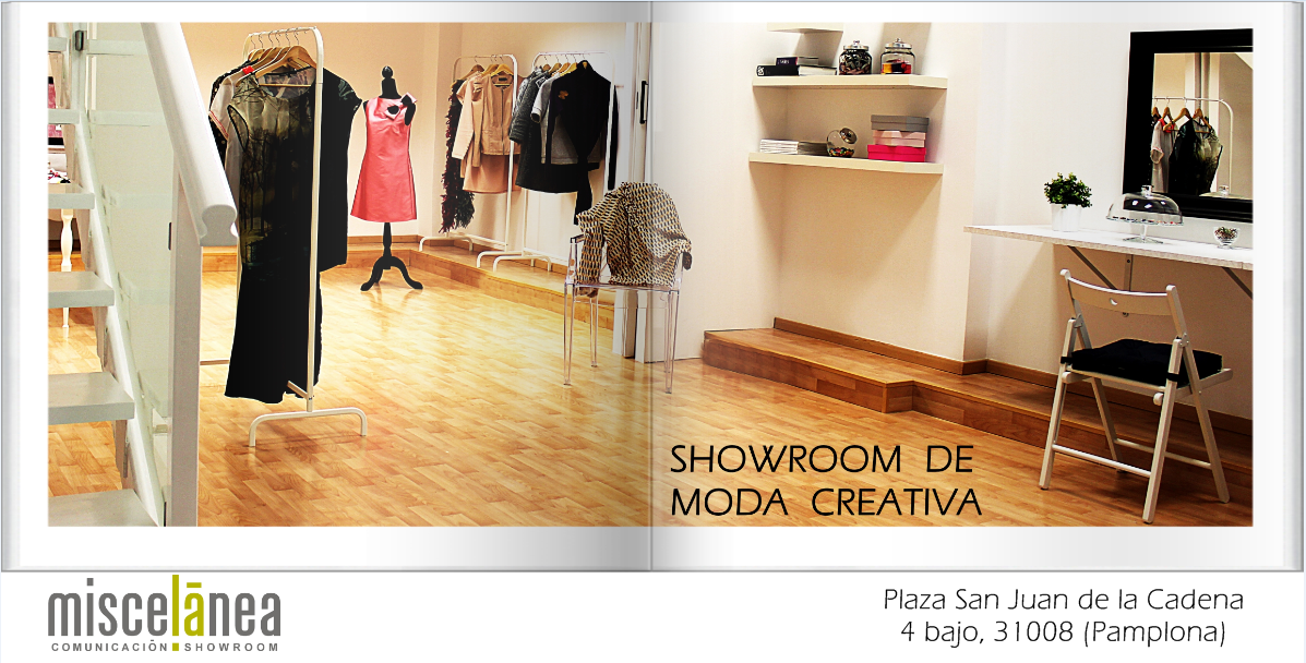SHOWROOM DE MODA CREATIVA EN NAVARRA