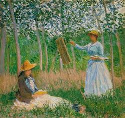 Claude Monet, sem sombra de dúvida o primeiro da minha lista de favoritos.