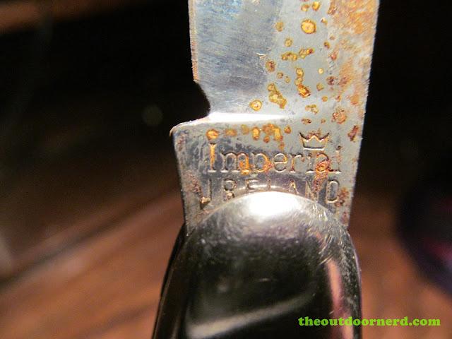 Vintage Imperial Camper Pocket Knife