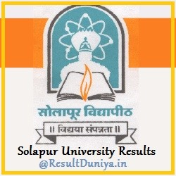 Solapur University Result Online