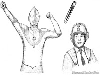 Printable Ultraman Coloring Pages Realistic