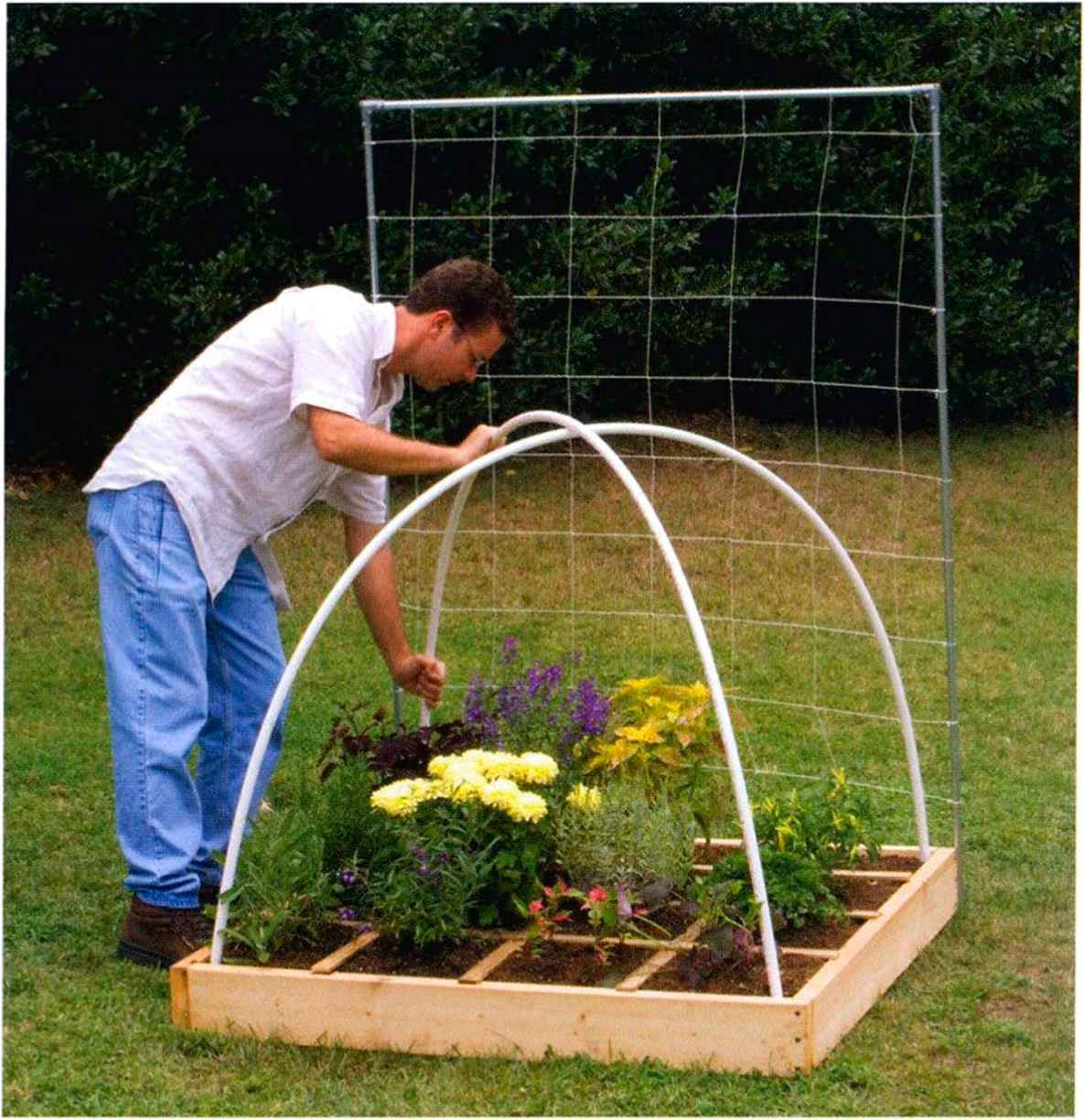 Eat Live Grow Paleo Square Foot Garden Garden Structures