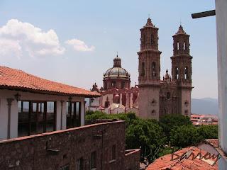 Paysages du Mexique Taxco ville coloniale mine argent  blog voyage photos