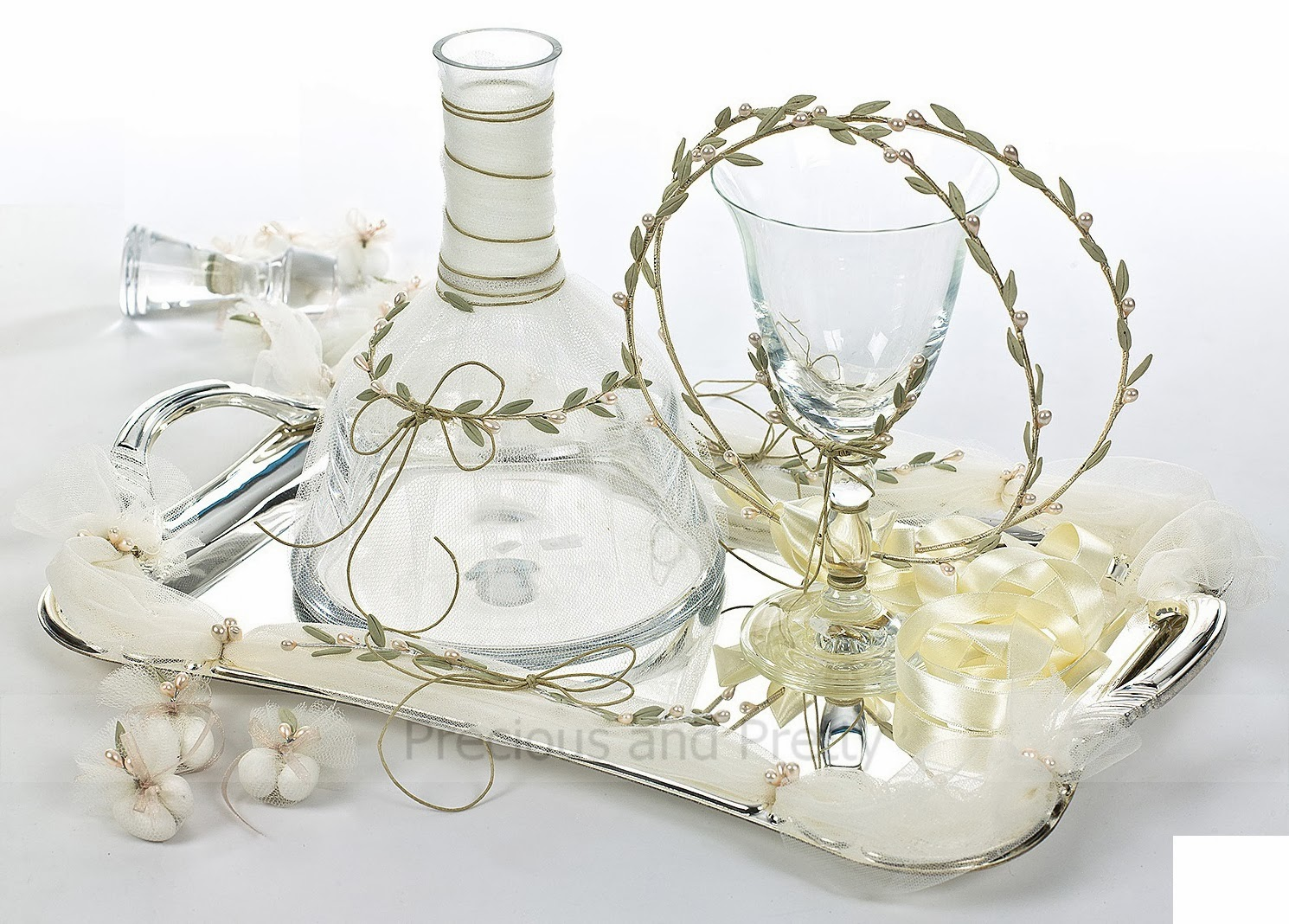 Greek wedding olive theme set N654   preciousandpretty.com