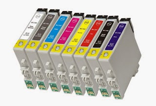eight cartridges for inkjet printers