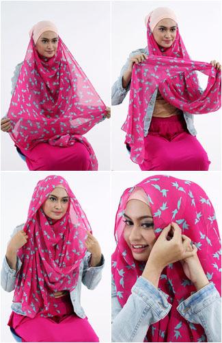 Cara Memakai Jilbab Pashmina yang Simple untuk Sehari-hari