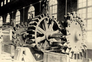 rueda pelton fabrica asland cemento tren guardiola castellar n'hug berga