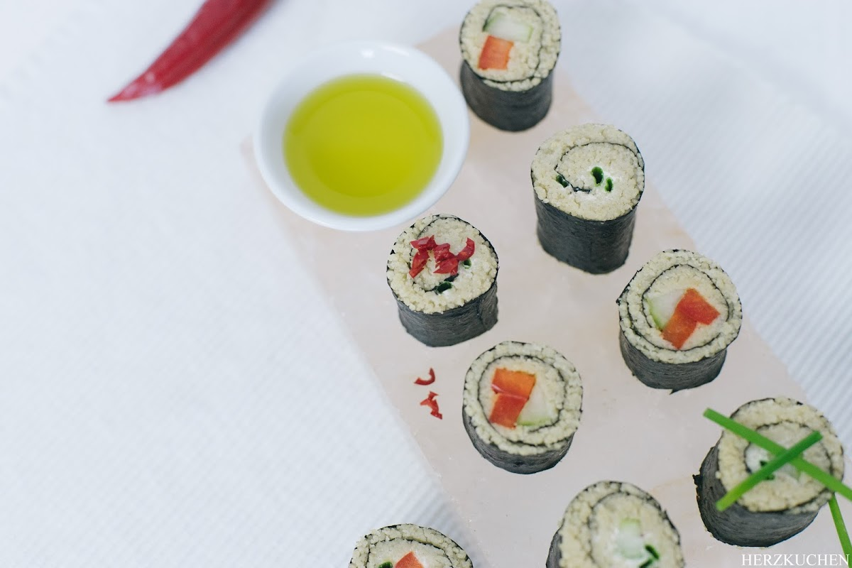 Sushi aus Couscous - Coushi