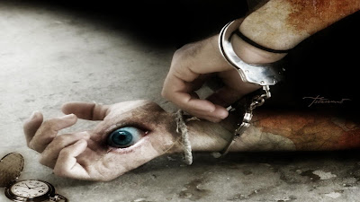 eyes in hand - hd scary eyes wallpapers