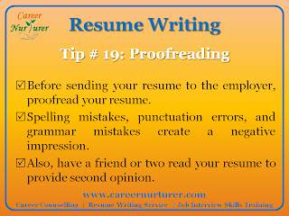 Career Counselling and Guidance Resume Tips