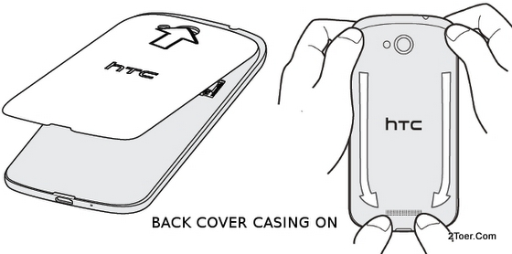 Replace Back Cover Attach Casing ON HTC One VX ATT