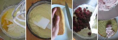 Zubereitung Beeren-Sahne-Törtchen