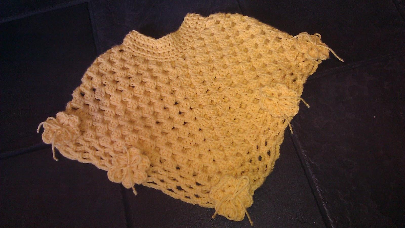 Rita Hutcheson-Cobbs: Baby Crochet Poncho...