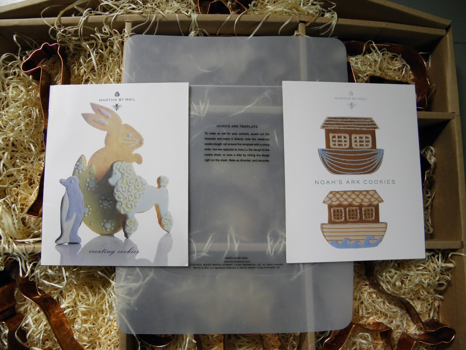 Good Things by David: Martha by Mail Noah\'s Ark Cookie Cutters ~ Set I