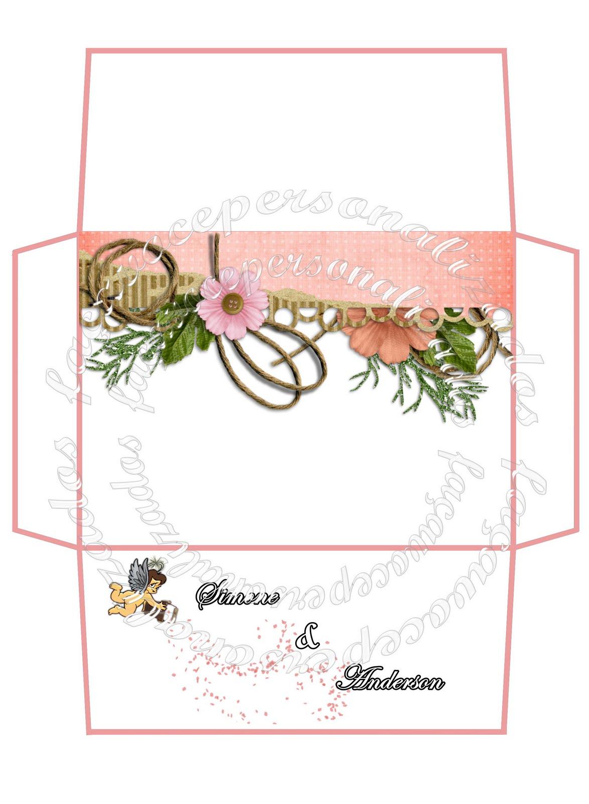 Super Faça você personalizados: Artes para convites casamento TV04