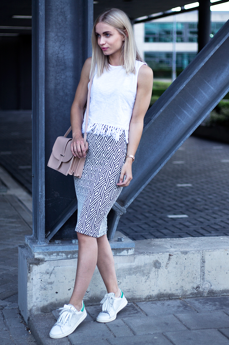 Fashion Attacks outfit ootd graphic printed skirt