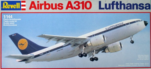 JN Model kits Review: Revell 1/144 Airbus A310 White Airways