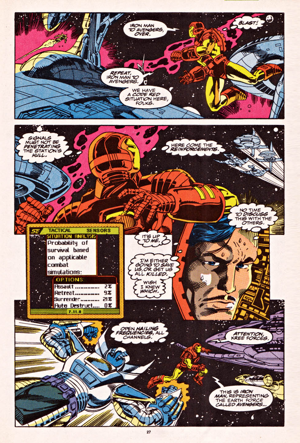 Captain America (1968) Issue #398f #336 - English 21