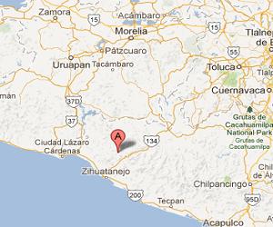 Ixtapa_earthquake_epicenter_map