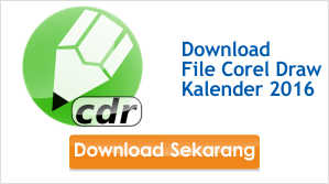 Download CDR Kalender 2016