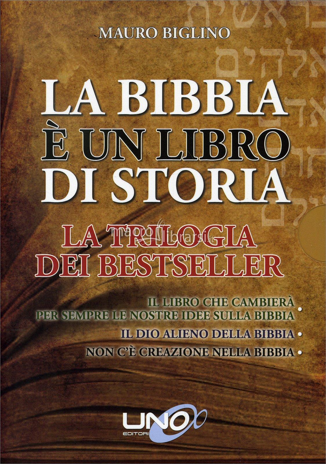 LA BIBBIA E' UN LIBRO DI STORIA