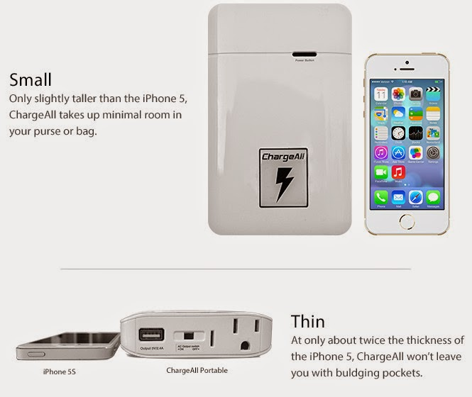 chargeall incarcator portabil universal