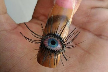 Top 15 Most Scary Nail Art
