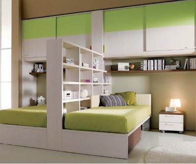 Habitaci n para dos ni os aprovechar espacios ideas for Habitaciones pequenas aprovechar espacio